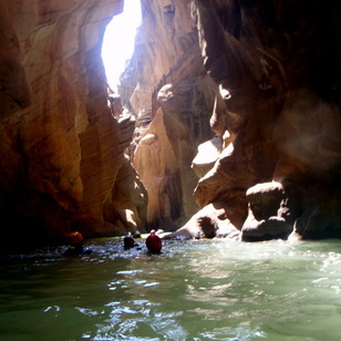 Stag Weekend Canyoning Activities on the Costa del Sol