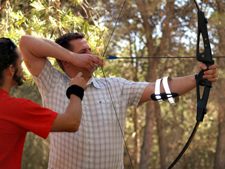 Archery for Stag party Weekends in Marbella